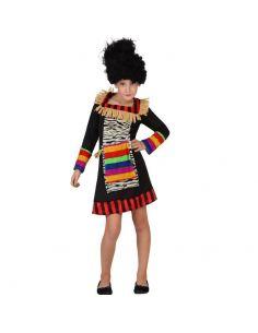 Disfraz de Zulú para niña Tienda de disfraces online - venta disfraces