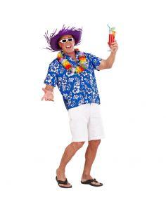 Camisa Hawaiana azul Tienda de disfraces online - venta disfraces