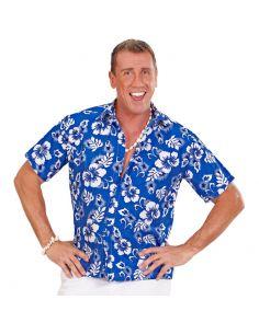 Camisa Hawaiana azul XL Tienda de disfraces online - venta disfraces