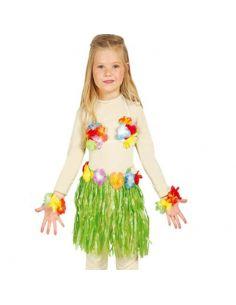 Conjunto Hawaiano Infantil Tienda de disfraces online - venta disfraces