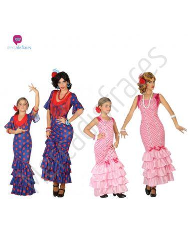 Disfraces de Carnaval de Sevillanas para grupos Tienda de disfraces online - venta disfraces