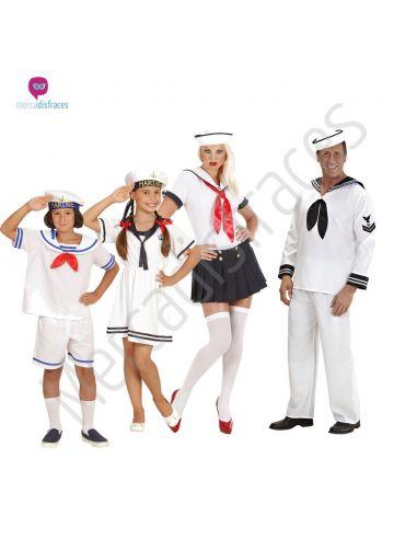 Disfraces grupos Marineros Tienda de disfraces online - venta disfraces