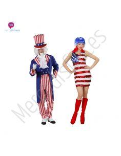 Disfraces para grupos de Americanos