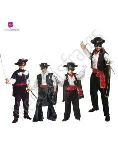 Disfraces grupo de Zorro Tienda de disfraces online - venta disfraces