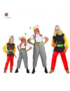 Disfraces grupos de Obelix y Asterix