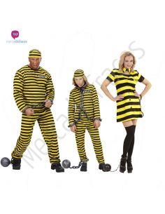 Disfraces de presos amarillos Tienda de disfraces online - venta disfraces
