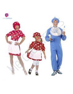 Disfraces grupos de bebes Tienda de disfraces online - venta disfraces