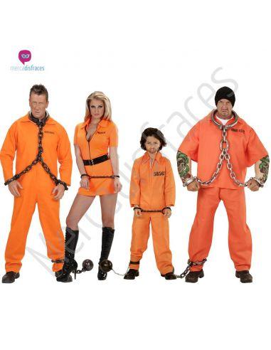 Disfraces grupos Presos naranjas Tienda de disfraces online - venta disfraces