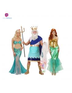 Disfraces de grupo de Sirena Tienda de disfraces online - venta disfraces