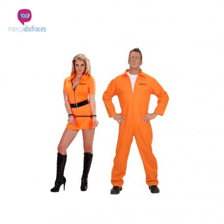 Disfraces de grupo reclusos adultos Tienda de disfraces online - venta disfraces