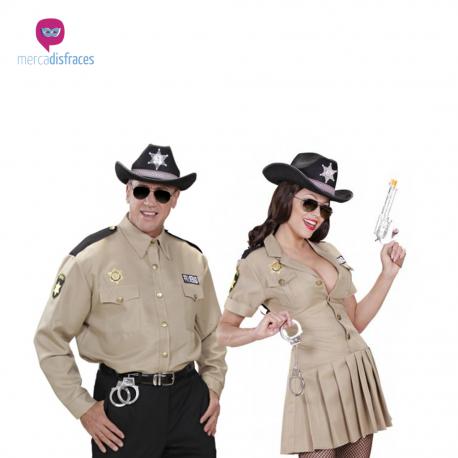 Disfraces grupo Policia Sheriffs Tienda de disfraces online - venta disfraces