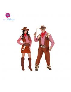 Disfraces grupo de vaqueros