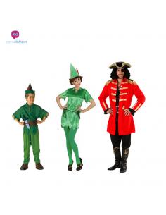 Disfraces grupo de Capitán Garfio y Peter Tienda de disfraces online - venta disfraces