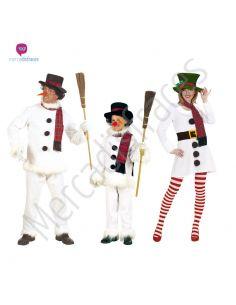 Disfraces grupo Muñeco de nieve Tienda de disfraces online - venta disfraces