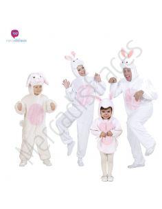 Disfraces grupos de conejos blancos Tienda de disfraces online - venta disfraces