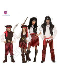 Disfraces grupos piratas de rayas Tienda de disfraces online - venta disfraces
