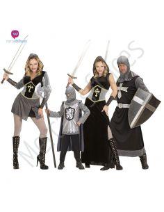 Disfraces grupo Medievales grises Tienda de disfraces online - venta disfraces