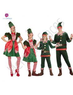 Disfraces grupos Elfos Navideños Tienda de disfraces online - venta disfraces