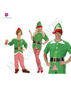 Disfraces grupos Elfos o duende navideños Tienda de disfraces online - venta disfraces