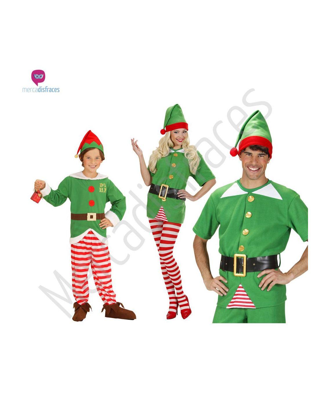 Disfraces grupos elfos o duende navide os ideas para - Disfraces navidenos para ninas ...