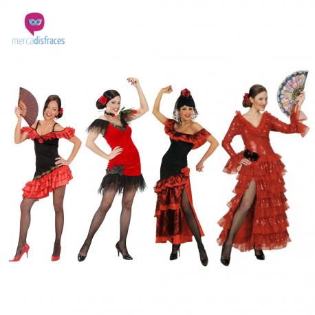 Disfraces grupos Flamencas Tienda de disfraces online - venta disfraces