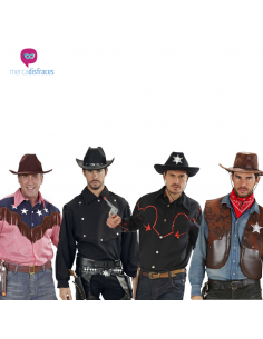 Disfraces grupos camisas Cowboy para chico Tienda de disfraces online - venta disfraces