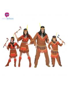 Disfraces grupos Indios Siux