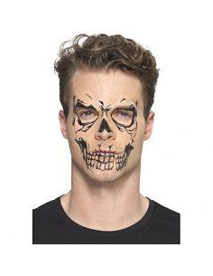 Tatuaje facial Calavera Tienda de disfraces online - venta disfraces