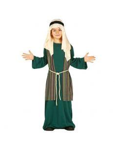 Disfraz San José – Pastor Infantil color verde Tienda de disfraces online - venta disfraces