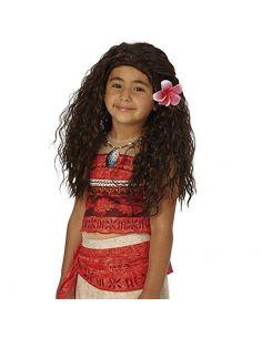 Peluca Vaiana Infantil Tienda de disfraces online - venta disfraces