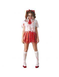 Disfraz de Colegiala Zombie Adulta Tienda de disfraces online - venta disfraces