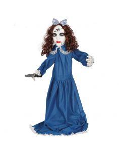 Vampira con cuchillo, luz, sonido y movimiento Tienda de disfraces online - venta disfraces
