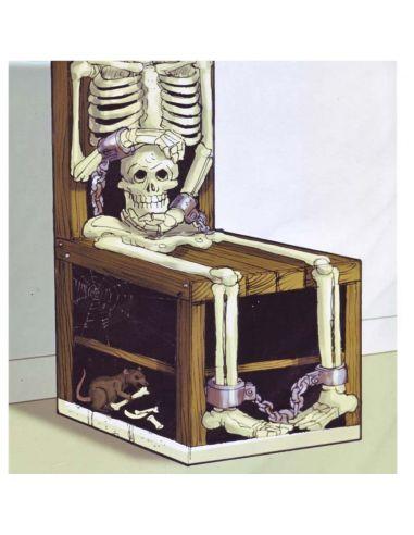 Decoración Silla Esqueleto Tienda de disfraces online - venta disfraces