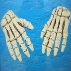 Guantes Manos de Esqueleto Tienda de disfraces online - venta disfraces