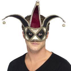 Máscara Veneciana con Cascabeles Tienda de disfraces online - venta disfraces