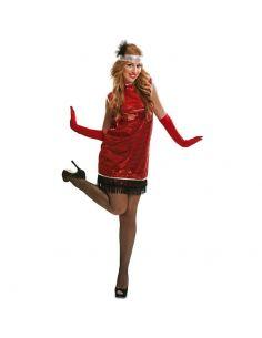 Disfraz Charleston rojo para adulta Tienda de disfraces online - venta disfraces