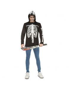 Camiseta de esqueleto adulto Tienda de disfraces online - venta disfraces
