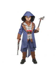 Disfraz asesino azul infantíl Tienda de disfraces online - venta disfraces
