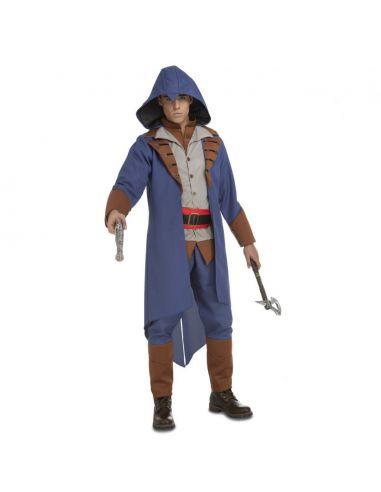 Disfraz Asesino azul para hombre Tienda de disfraces online - venta disfraces