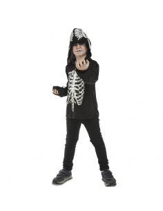 Camiseta con capucha de esqueleto infantil Tienda de disfraces online - venta disfraces