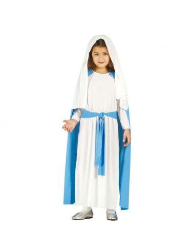 Disfraz Virgen María para niña