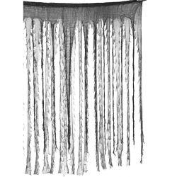 Cortina negra y gris Tienda de disfraces online - venta disfraces