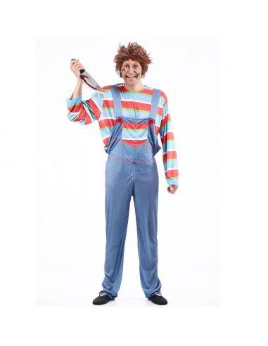 Disfraz Muñeco diabólico adulto Tienda de disfraces online - venta disfraces