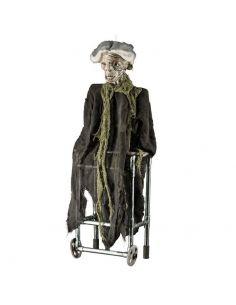Anciana con andador con sonido, luz y movimiento Tienda de disfraces online - venta disfraces