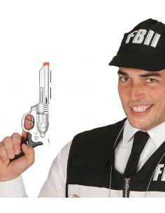 Pistola FBI 28 cm Tienda de disfraces online - venta disfraces