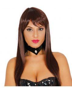 Peluca Melena lisa Tienda de disfraces online - venta disfraces