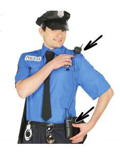 Intercomunicador policía Tienda de disfraces online - venta disfraces