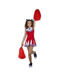 Disfraz de Animadora o cheerleader para niña Tienda de disfraces online - venta disfraces