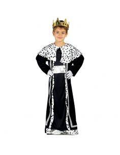Disfraz de Rey Mago azul infantil