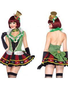 Disfraz Croupier de Chica Tienda de disfraces online - venta disfraces